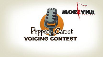 Voicing contest by Morevna team