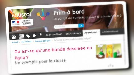 Pepper&Carrot adviced in usage for French schools