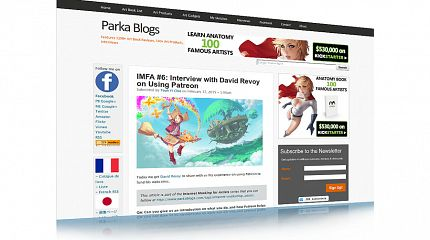 Interview about Patreon by Parka Blog