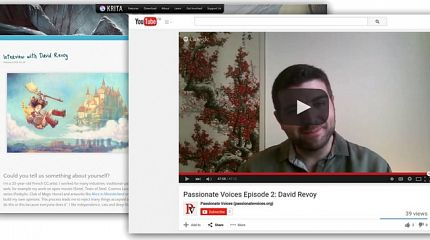 Video interviews by Passionatevoices.org