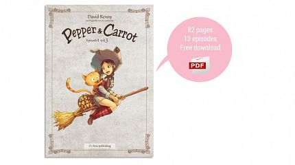 Pepper&Carrot free PDF of book one