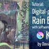Rain effect with Krita